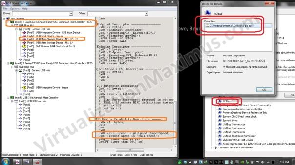 Intel - xHCI - USB Host Controller Switch - Microsoft PCI Bus