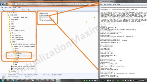 Intel - xHCI - USB Host Switch Controller - iusb3hcs.inf - 01